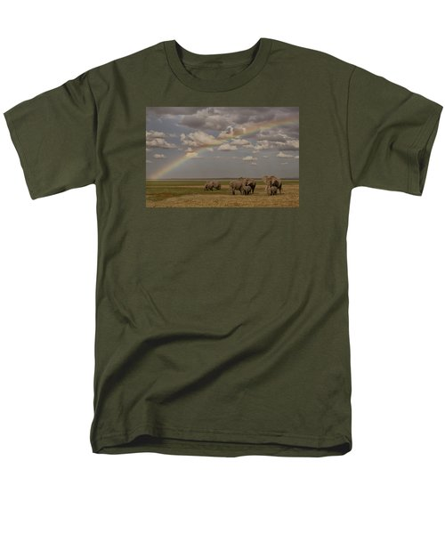 Somewhere Under The Rainbow Men's T-Shirt  (Regular Fit) by Gary Hall