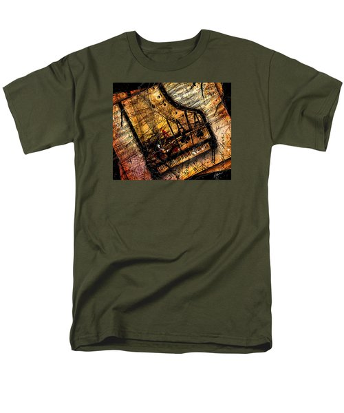 Sonata In Ace Minor Men's T-Shirt  (Regular Fit) by Gary Bodnar