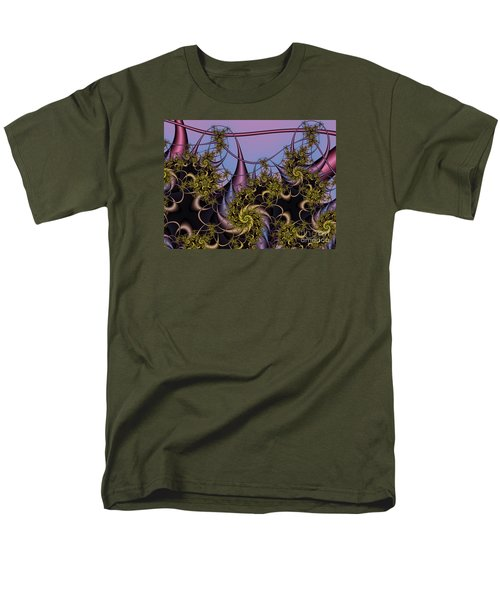 Men's T-Shirt  (Regular Fit) featuring the digital art Sorcerers Apprentice by Karin Kuhlmann