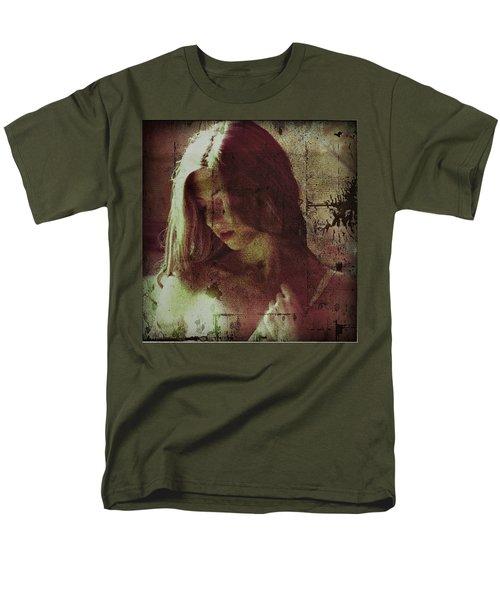 Men's T-Shirt  (Regular Fit) featuring the photograph Sorrow by Allen Beilschmidt