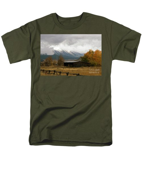 South Idaho Rt 20 Men's T-Shirt  (Regular Fit) by Cindy Murphy - NightVisions