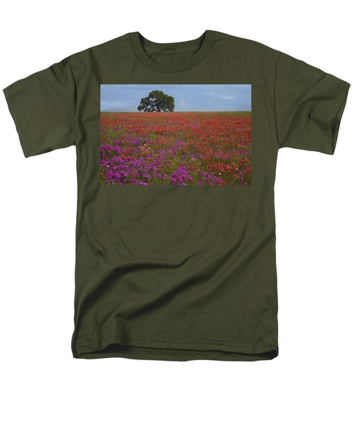 South Texas Bloom Men's T-Shirt  (Regular Fit) by Susan Rovira