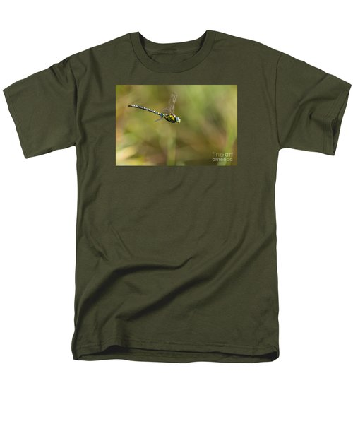 Men's T-Shirt  (Regular Fit) featuring the photograph Southern Blue Hawker Male by Jivko Nakev