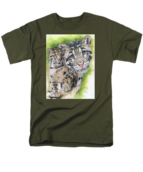 Men's T-Shirt  (Regular Fit) featuring the mixed media Sovereignty by Barbara Keith