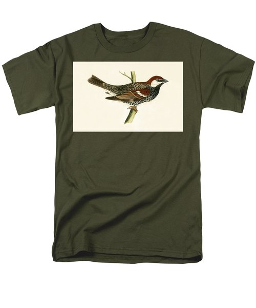 Spanish Sparrow Men's T-Shirt  (Regular Fit) by English School