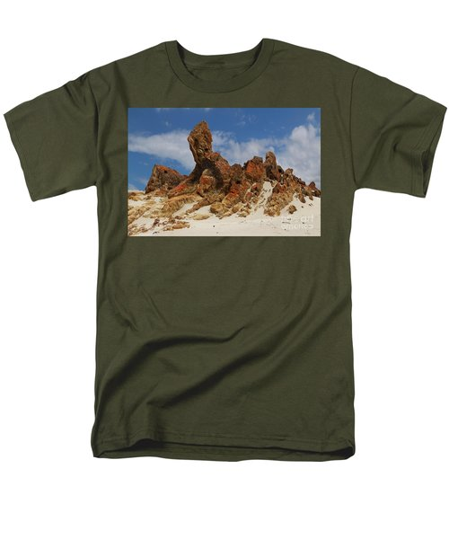Men's T-Shirt  (Regular Fit) featuring the photograph Sphinx Of South Australia by Stephen Mitchell
