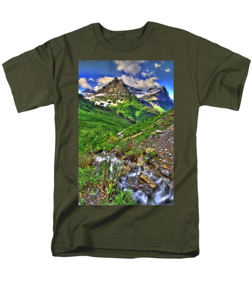 Spires And Stream Men's T-Shirt  (Regular Fit) by Scott Mahon