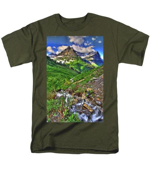 Spires And Stream Men's T-Shirt  (Regular Fit) by Scott Mahon