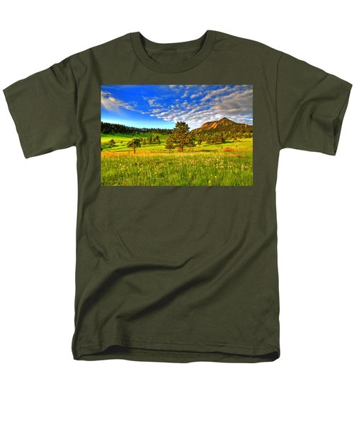Spiritual Sky Men's T-Shirt  (Regular Fit) by Scott Mahon
