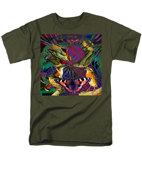 Spiritual Sun Behind The Sun Men's T-Shirt  (Regular Fit) by Joseph Mosley