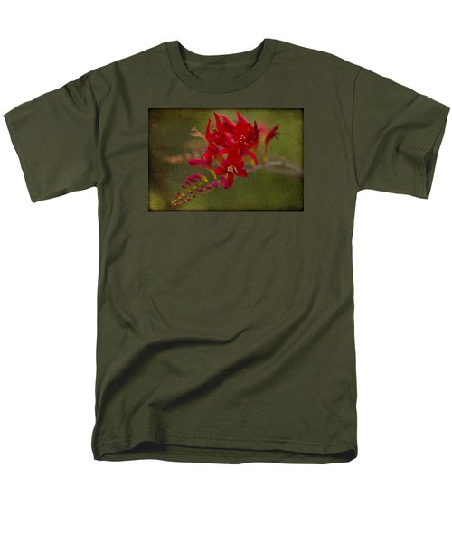 Splash Of Red. Men's T-Shirt  (Regular Fit) by Clare Bambers