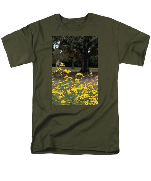 Splashes Of Yellow Men's T-Shirt  (Regular Fit) by Suzanne Gaff