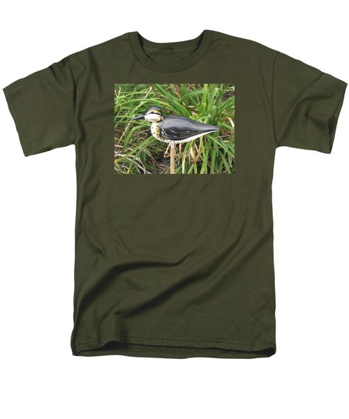 Men's T-Shirt  (Regular Fit) featuring the sculpture Spotted Sandpiper  by Kevin F Heuman