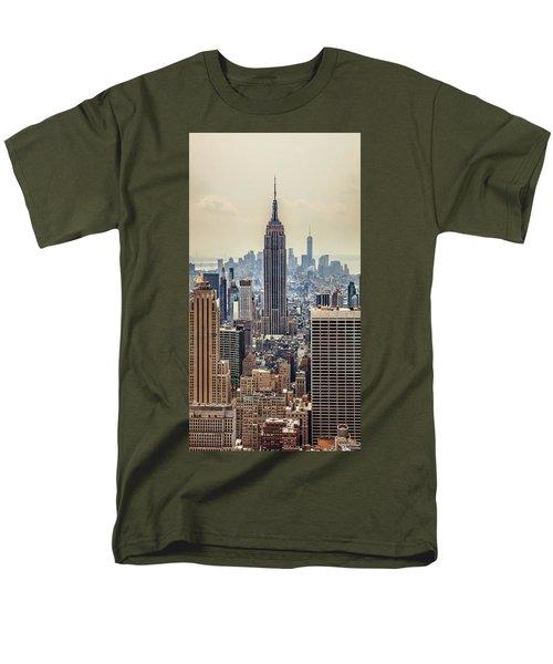 Sprawling Urban Jungle Men's T-Shirt  (Regular Fit) by Az Jackson