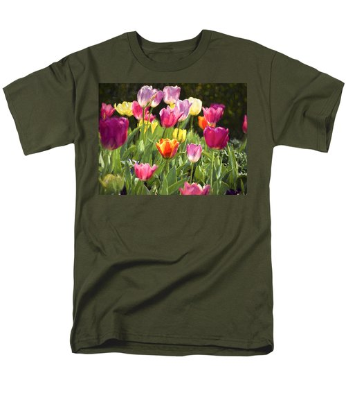 Men's T-Shirt  (Regular Fit) featuring the photograph Spring Colors by Penny Lisowski