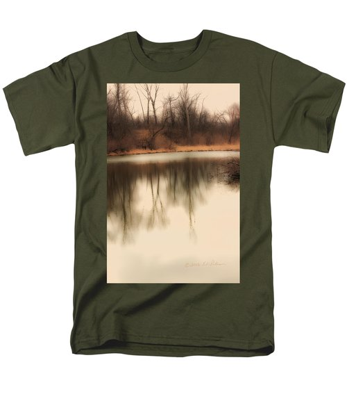 Men's T-Shirt  (Regular Fit) featuring the photograph Spring Coming by Edward Peterson
