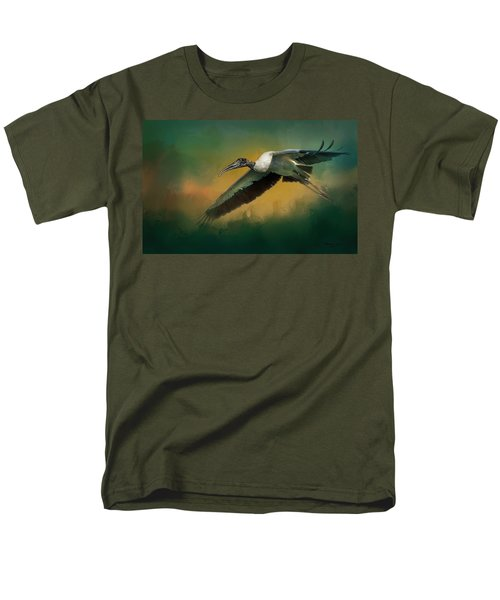 Men's T-Shirt  (Regular Fit) featuring the photograph Spring Flight by Marvin Spates