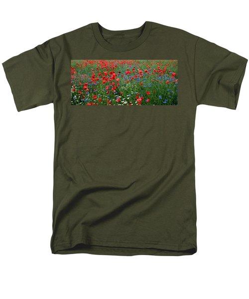 Spring Flowers Men's T-Shirt  (Regular Fit) by Ellen Heaverlo