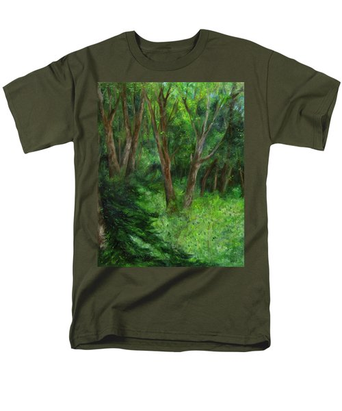 Spring In The Forest Men's T-Shirt  (Regular Fit) by FT McKinstry