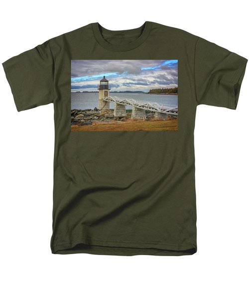 Men's T-Shirt  (Regular Fit) featuring the photograph Spring Morning At Marshall Point by Rick Berk
