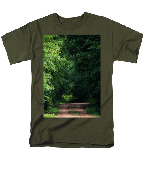 Men's T-Shirt  (Regular Fit) featuring the photograph Spring Path Of Light by Shelby Young