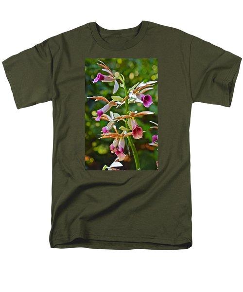 Spring Show 15 Nun's Orchid 1 Men's T-Shirt  (Regular Fit) by Janis Nussbaum Senungetuk