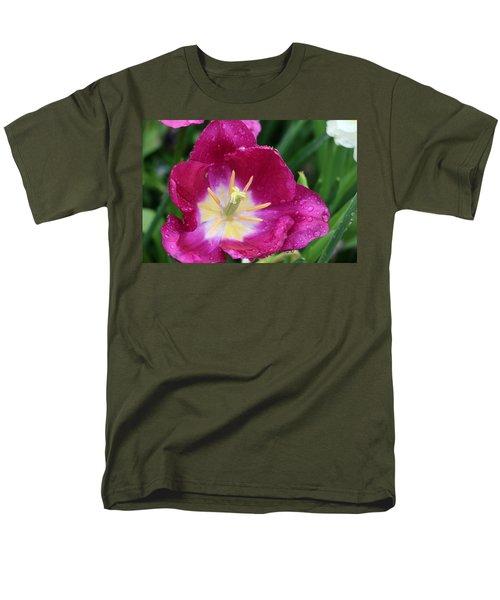 Spring Tulips 47 Men's T-Shirt  (Regular Fit) by Pamela Critchlow