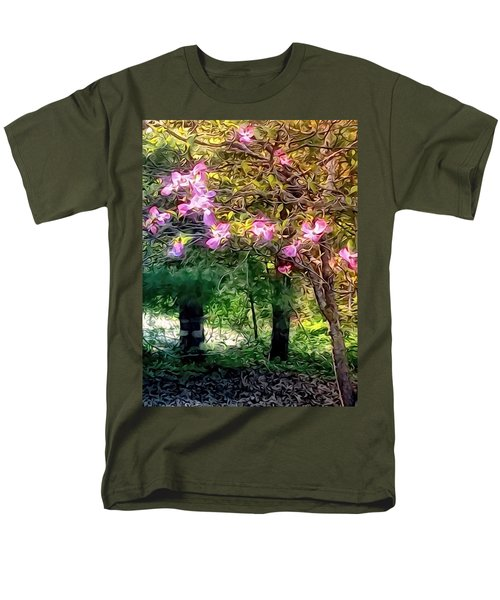 Spring Will Come Men's T-Shirt  (Regular Fit) by Robin Regan