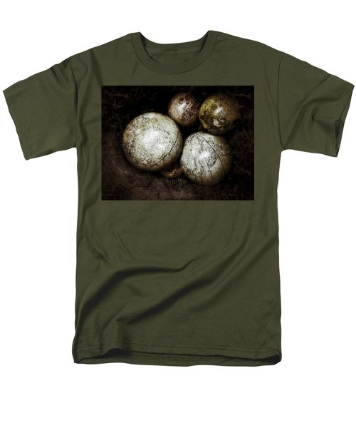 Stacking Worlds Men's T-Shirt  (Regular Fit)