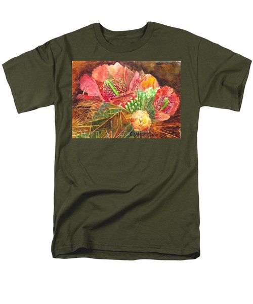 Staghorn In Bloom Men's T-Shirt  (Regular Fit) by Eric Samuelson