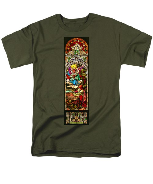 Men's T-Shirt  (Regular Fit) featuring the photograph Stained Glas Scene 7 by Adam Jewell