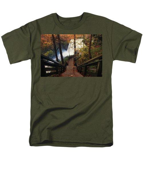 Stairway To Brandywine Men's T-Shirt  (Regular Fit) by Rob Blair