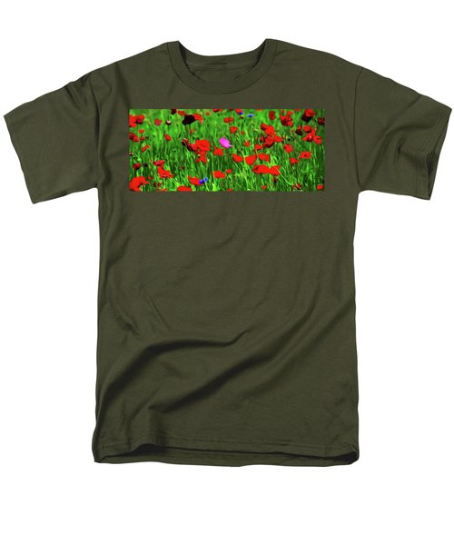 Men's T-Shirt  (Regular Fit) featuring the digital art Stand Out by Timothy Hack