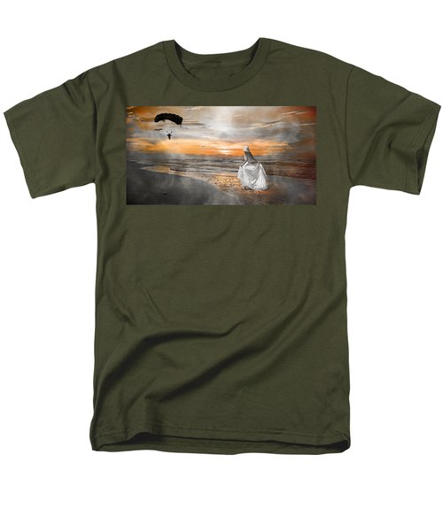 Standing By My Word Men's T-Shirt  (Regular Fit) by Betsy Knapp