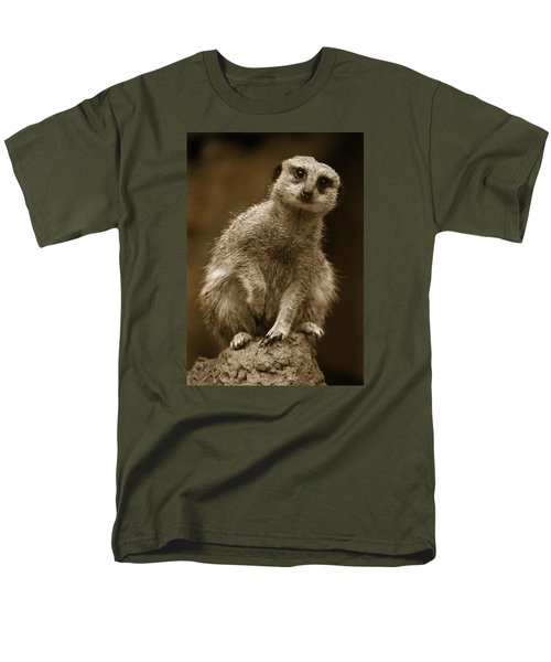 Standing Sentry Men's T-Shirt  (Regular Fit) by Greg Slocum