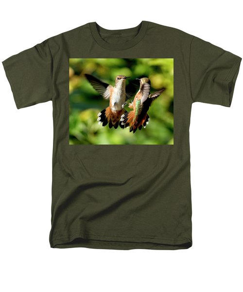 Standoff Men's T-Shirt  (Regular Fit) by Sheldon Bilsker