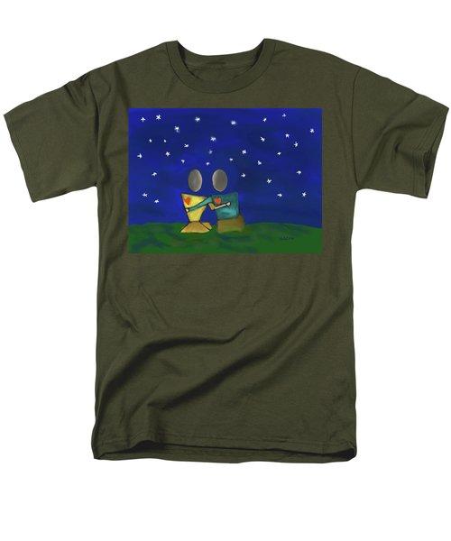 Star Watching Men's T-Shirt  (Regular Fit) by Haleh Mahbod