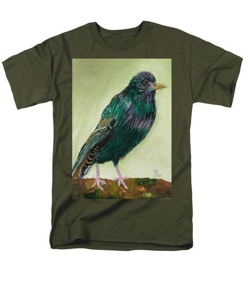 Starling Men's T-Shirt  (Regular Fit) by Carole Robins