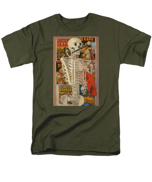 Men's T-Shirt  (Regular Fit) featuring the painting Starving Artist by Donelli  DiMaria
