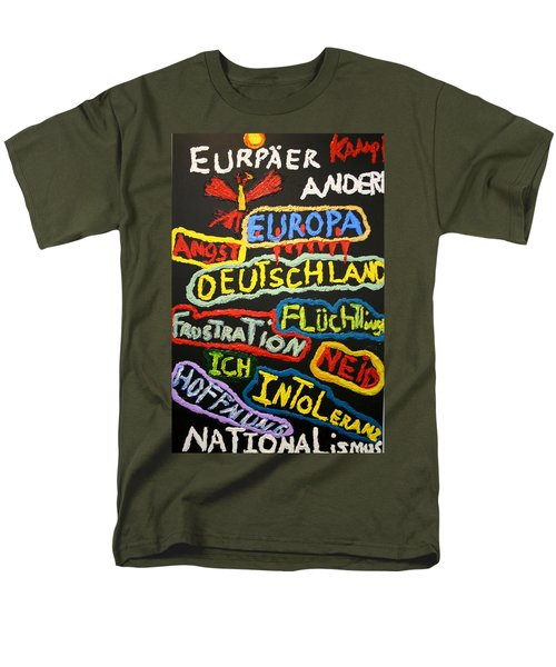 State Of Europe Men's T-Shirt  (Regular Fit) by Darrell Black