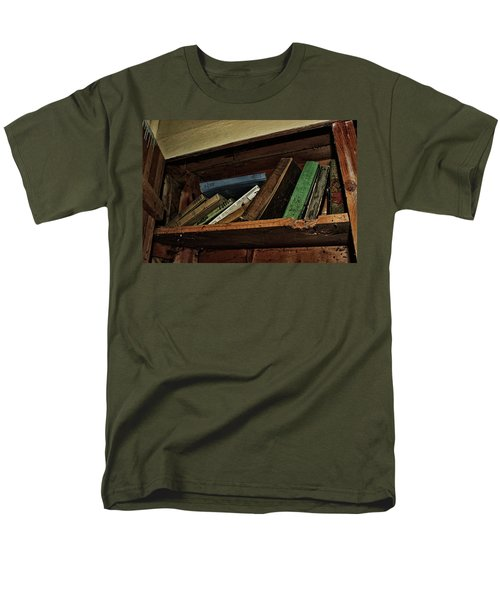 Stay A While And Listen Men's T-Shirt  (Regular Fit) by Ryan Crouse
