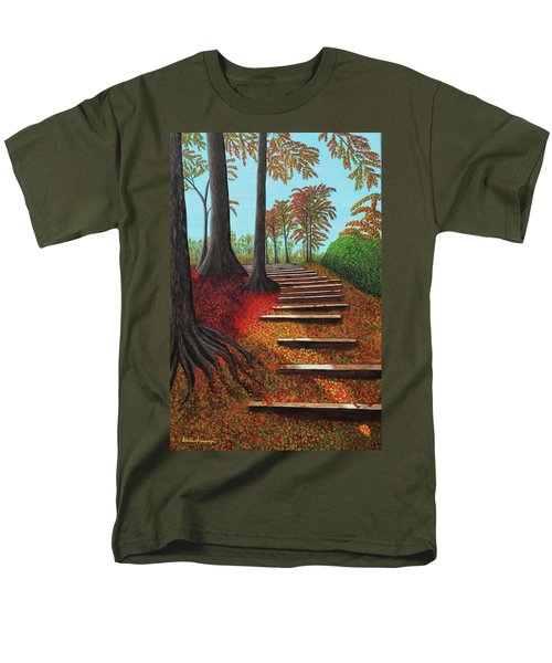 Almost There Men's T-Shirt  (Regular Fit) by Donna Manaraze