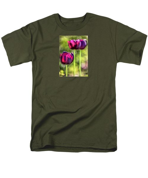 Stepping Out Men's T-Shirt  (Regular Fit) by Jean OKeeffe Macro Abundance Art