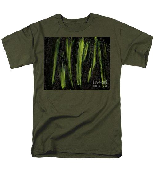 Stepping Through Mens Blades Of Mars Men's T-Shirt  (Regular Fit) by Talisa Hartley