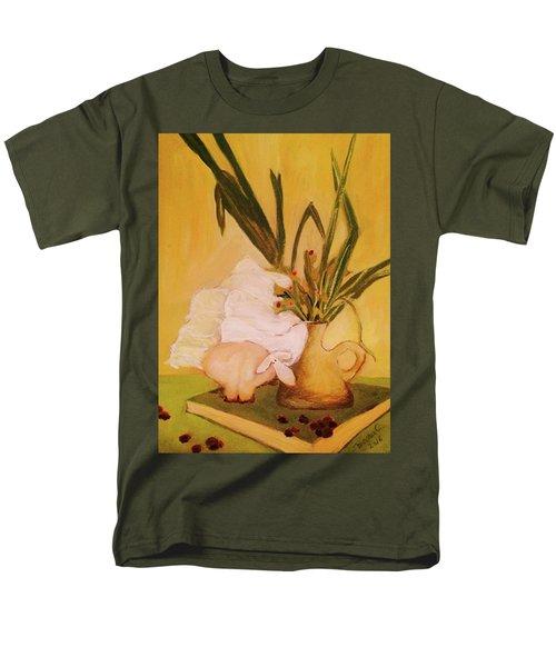 Still Life With Funny Sheep Men's T-Shirt  (Regular Fit)