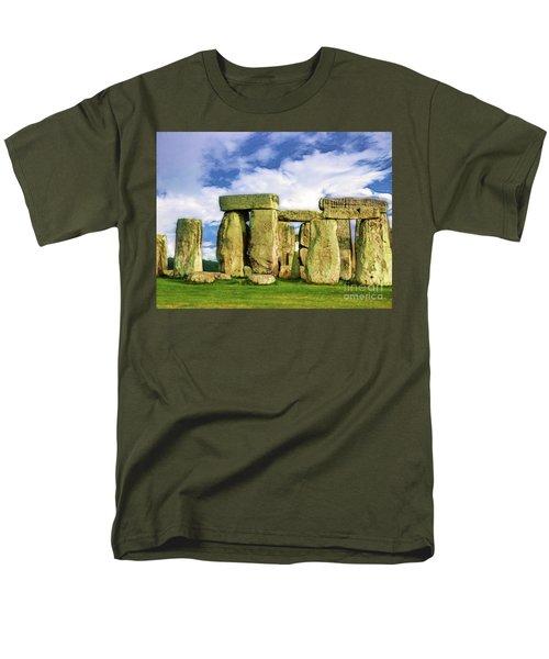 Stonehenge Men's T-Shirt  (Regular Fit) by Judi Bagwell