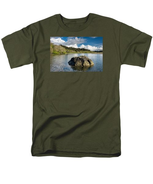 Storm Clearing On The Little River Men's T-Shirt  (Regular Fit) by Greg Nyquist