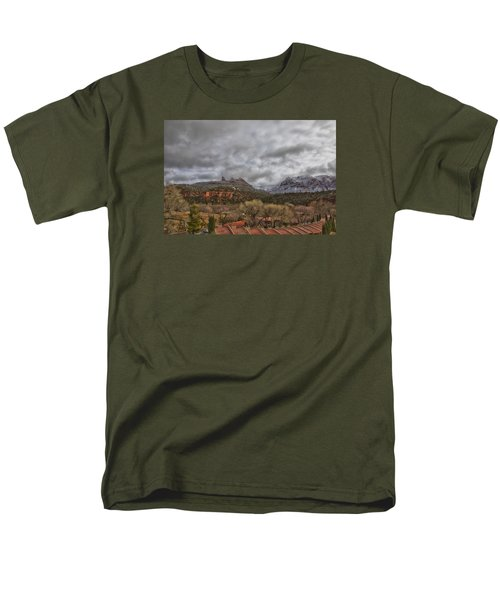 Men's T-Shirt  (Regular Fit) featuring the photograph Storm Lifting by Tom Kelly