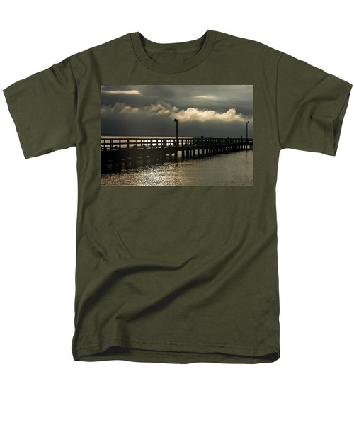 Storms Brewin' Men's T-Shirt  (Regular Fit) by Clayton Bruster