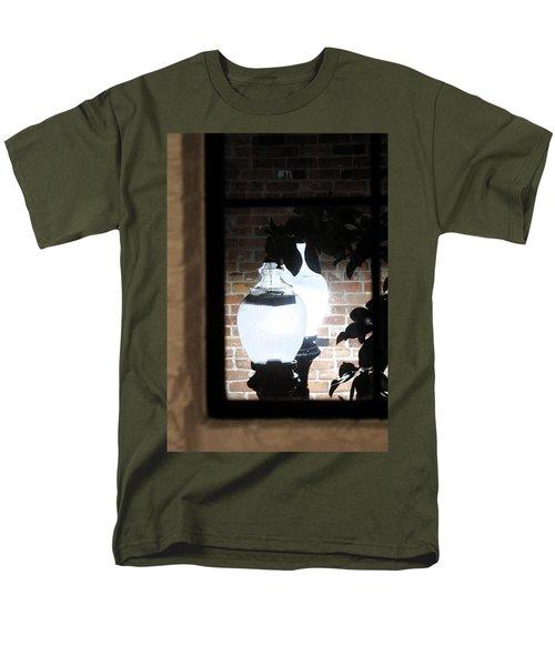 Street Light Through Window Men's T-Shirt  (Regular Fit) by Viktor Savchenko